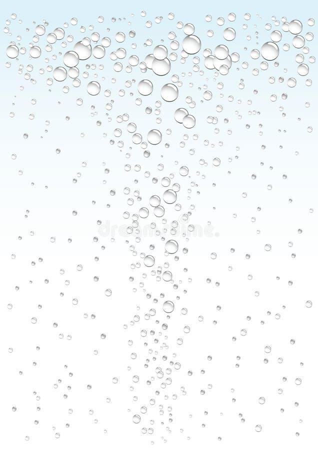 tło woda ilustracja wektor