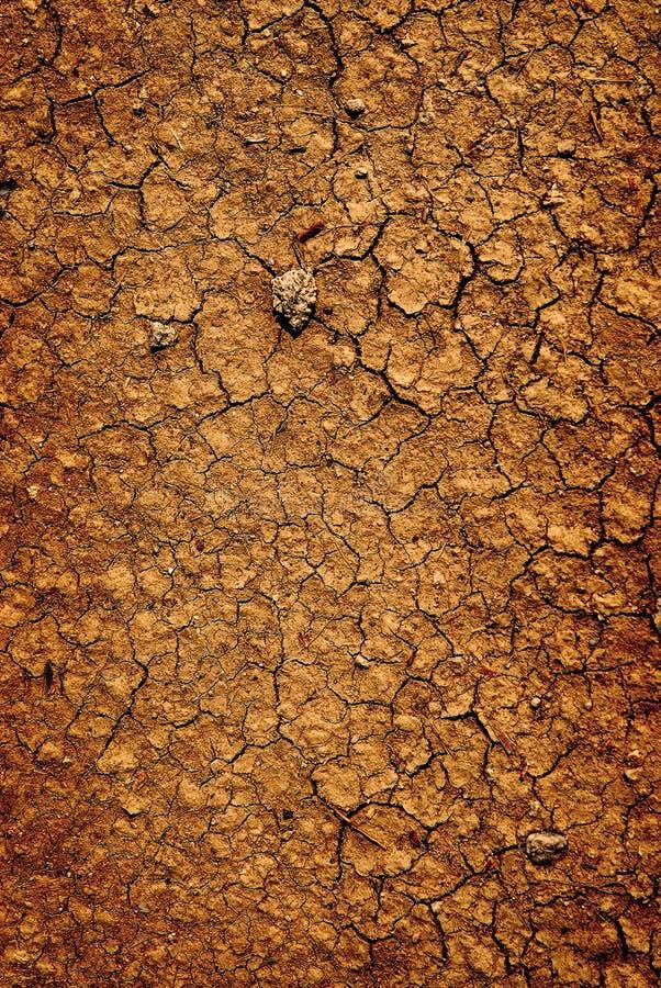 Tło wysuszona spieczona ziemska brud ziemia obraz stock