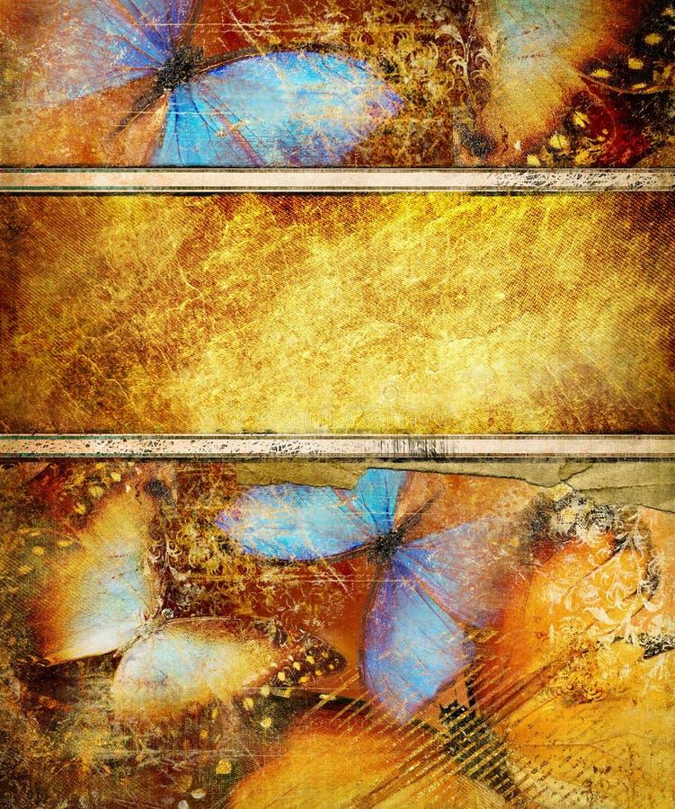 tło złoty ilustracji