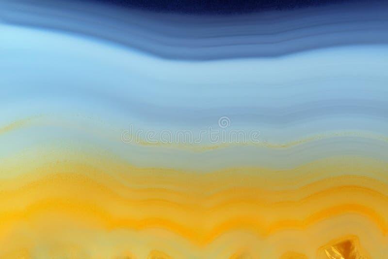 Tło z plasterkiem naturalny kamienny agat zdjęcie royalty free