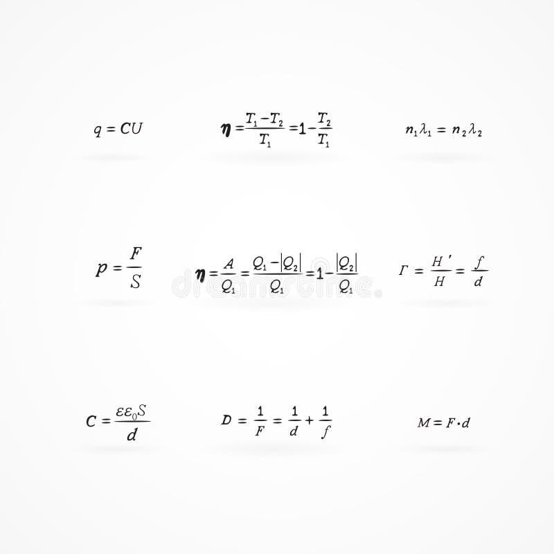 Download Tło Z Równaniami I Formułami Ilustracji - Ilustracja złożonej z kalkuluje, arte: 28955021