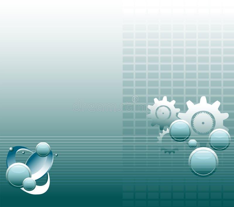 tło zaawansowany technicznie ilustracja wektor
