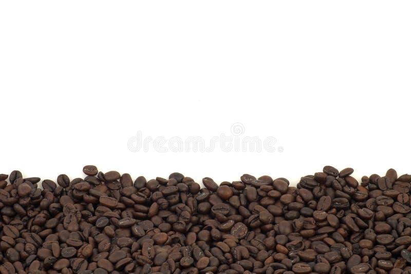 tło zamazane bobowe krawędzie kawy skupiają selektywnego zdjęcie stock