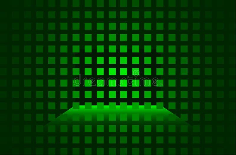 tło zieleń royalty ilustracja
