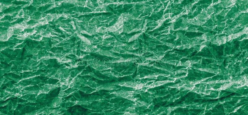 Tło zieleń miący papier panorama zdjęcia royalty free