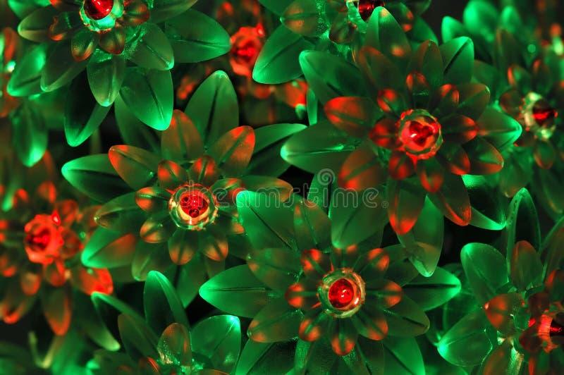 tło zielone światła czerwonego eon zdjęcie stock