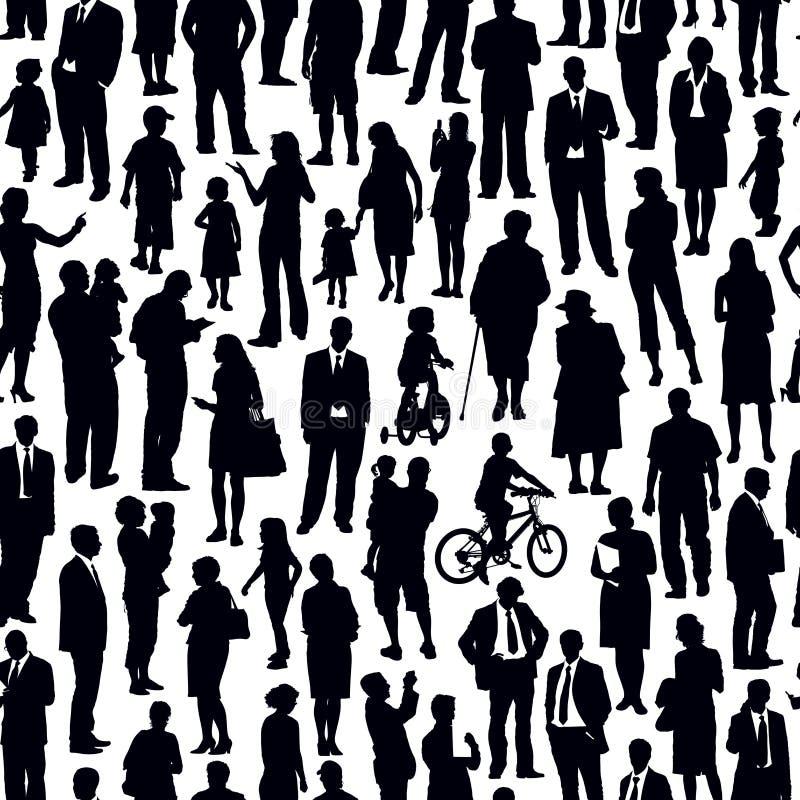 Tłum ludzie