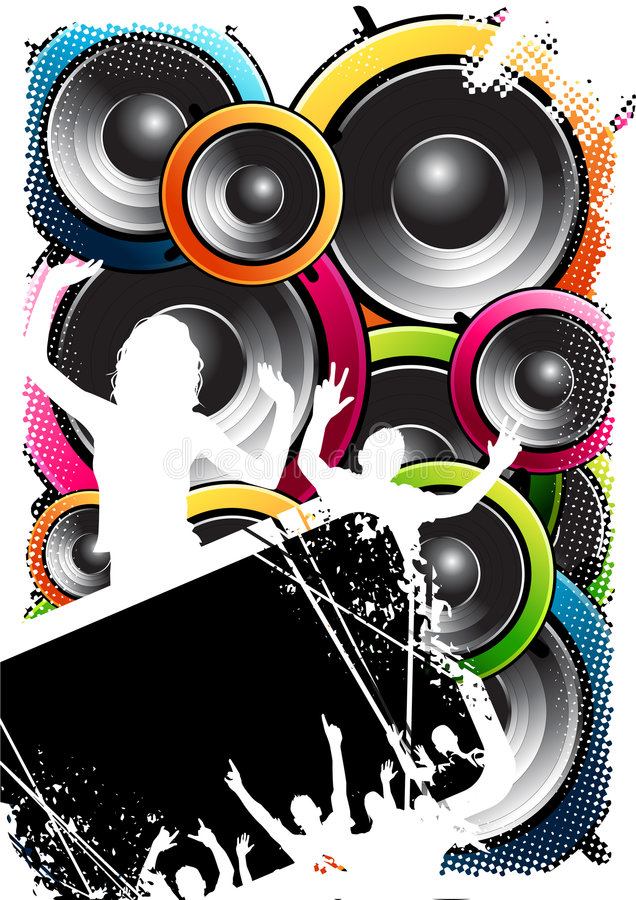 tłum speakerbox ilustracji