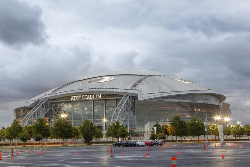 AT&T体育场在达拉斯,美国 免版税库存照片