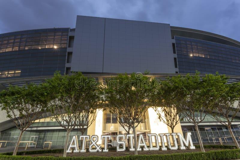 AT&T体育场在达拉斯,美国 库存照片