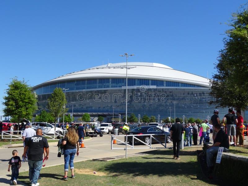 AT&T体育场 免版税库存照片