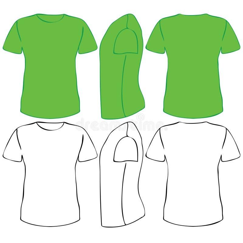 T恤杉 向量例证
