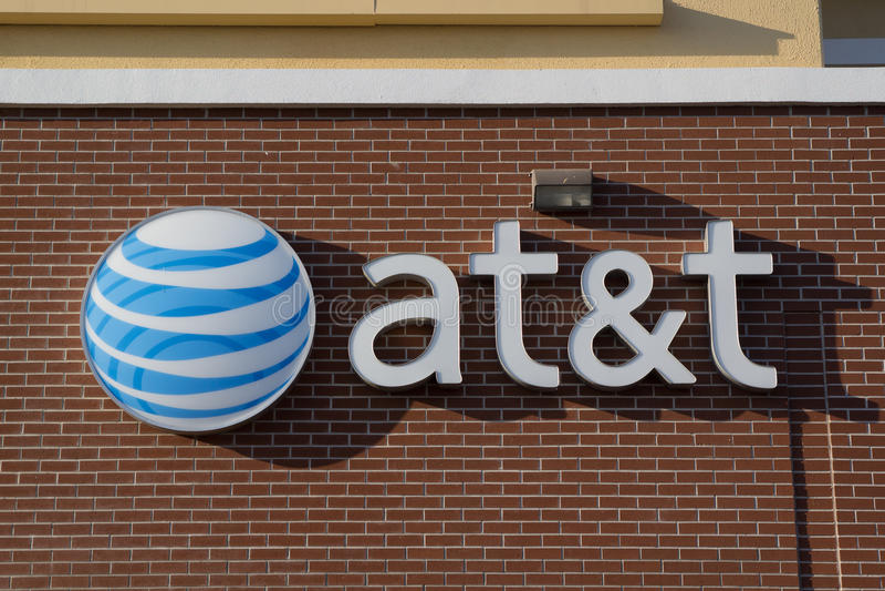 AT&T imagen de archivo libre de regalías