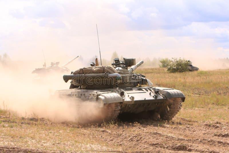 T-64BM Bulat Tanks Stock Image