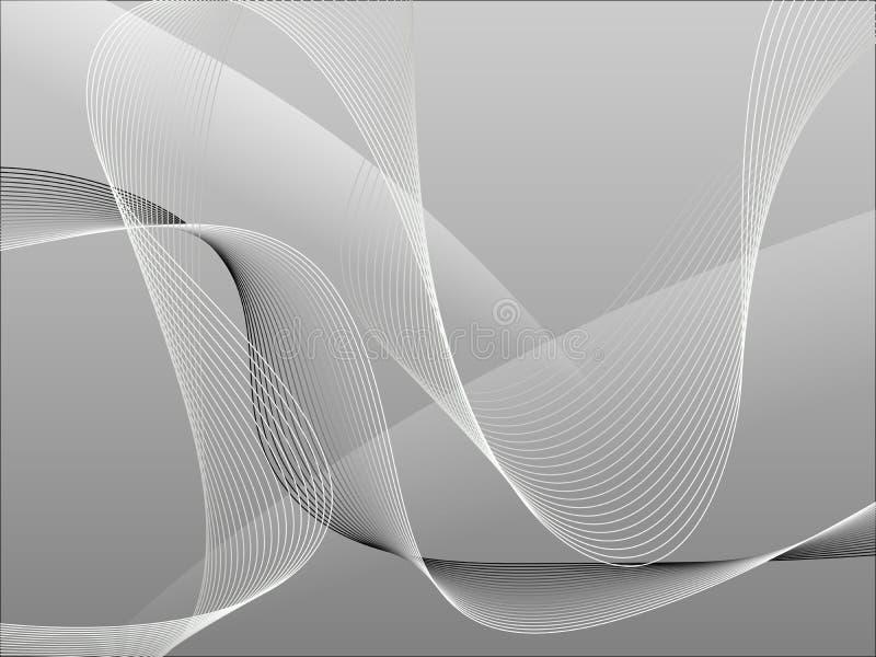 Download Tła Abstrakcjonistyczny Grey Ilustracja Wektor - Obraz: 13471332