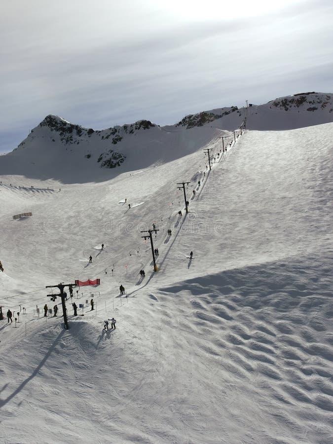 Download T bar ski lift stock photo. Image of skiing, outdoor, skier - 8435172