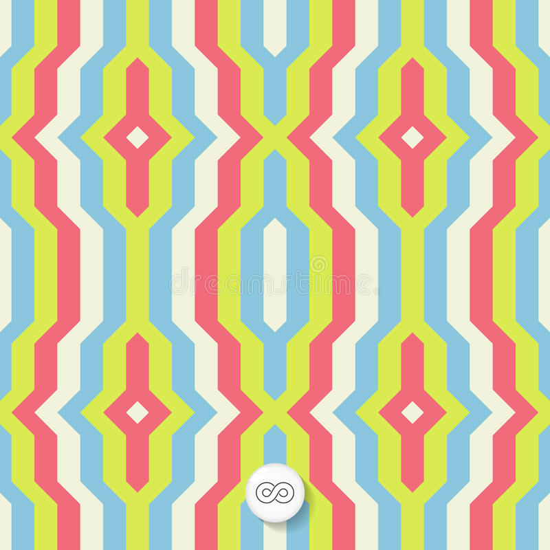 Download Tła Bezszwowy Geometryczny Mozaika Ilustracja Wektor - Ilustracja złożonej z pakunek, dekoruje: 53777190