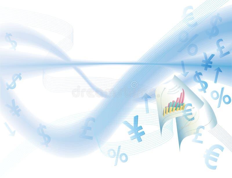 Download Tła biznesowi waluty znaki ilustracja wektor. Obraz złożonej z wartości - 18048664