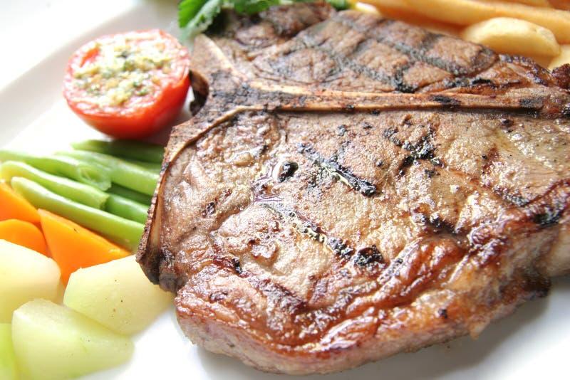 T-bone Steak Royalty Free Stock Image