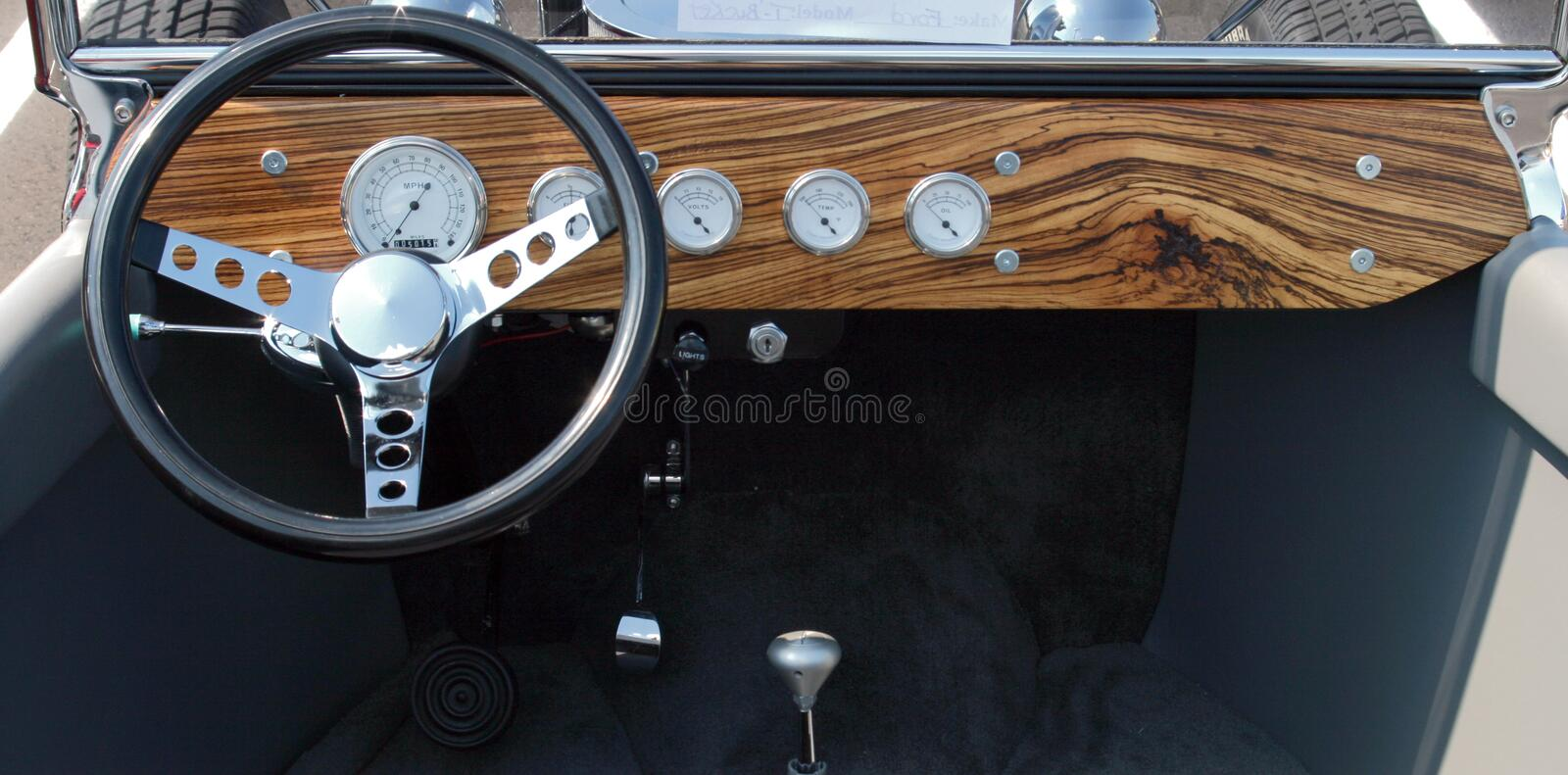 Download T-Bucket Interior stock image. Image of classical, oldfashioned - 2744949