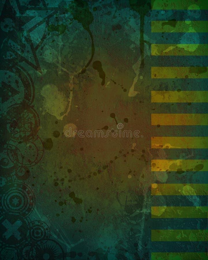 Download Tła Ciemnego Projekta Brudny Zielony Grunge Ilustracji - Obraz: 23355136