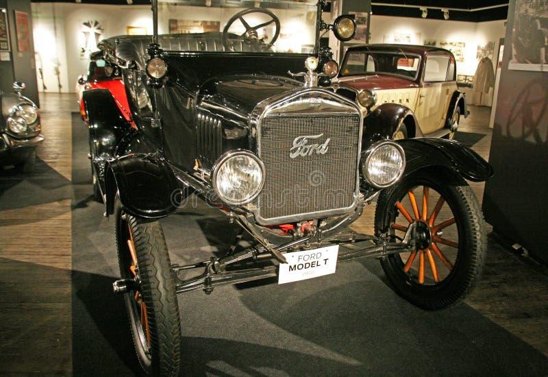 T1 1922 de Ford , Expo en el museo Zagreb, 2016 de la tecnología fotos de archivo