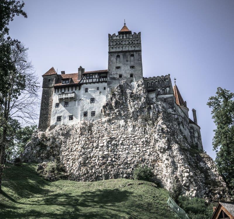 ` T di isn del castello del ` s di Dracula così spaventoso di estate immagine stock libera da diritti