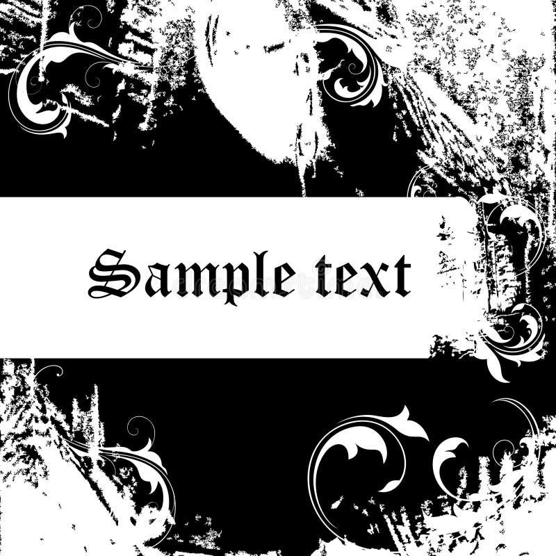 Download Tła grunge ilustracja wektor. Obraz złożonej z granica - 17123869