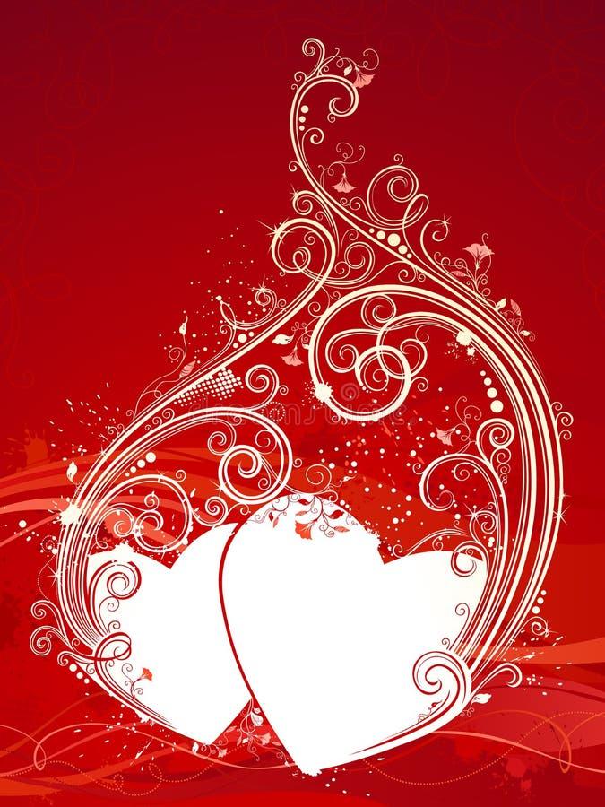 Download Tła Ilustracyjny Czerwieni S Valentine Wektor Ilustracja Wektor - Ilustracja złożonej z liść, dzień: 65225378