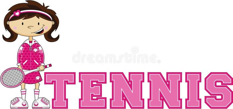 T ist für Tennis vektor abbildung