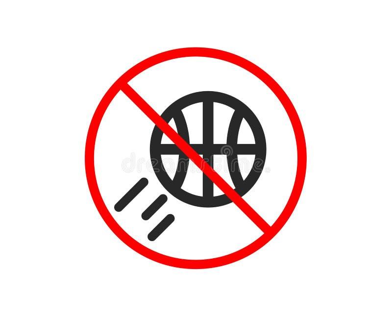 t?a koszyk?wki ikony odosobniony biel Sport pi?ki znak wektor ilustracja wektor