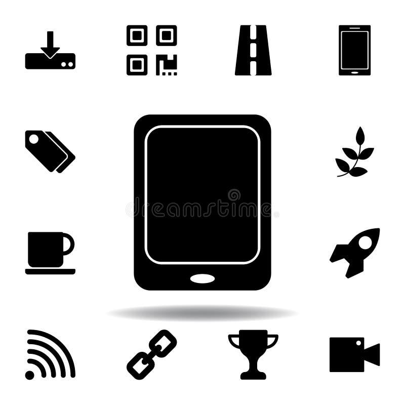 T?l?chargement ? l'ic?ne de stockage Des signes et les symboles peuvent ?tre employ?s pour le Web, logo, l'appli mobile, UI, UX illustration libre de droits