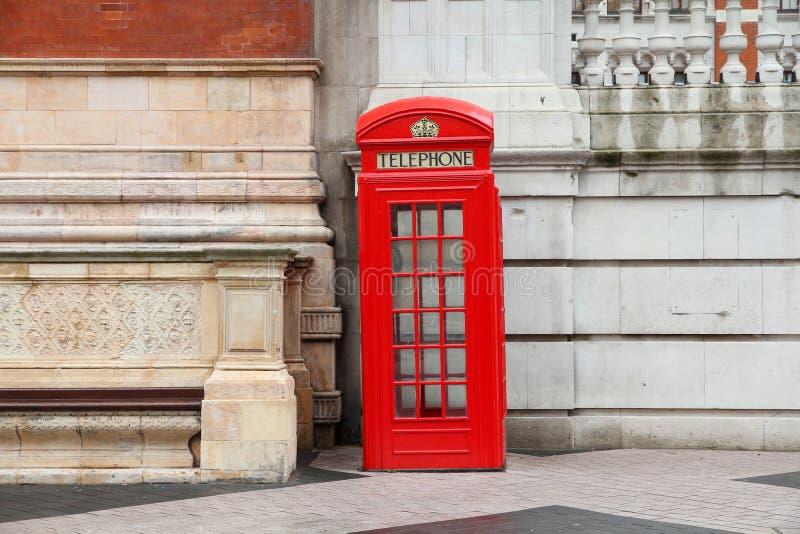 T?l?phone de Londres images libres de droits