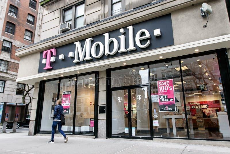 T-mobiel stock foto
