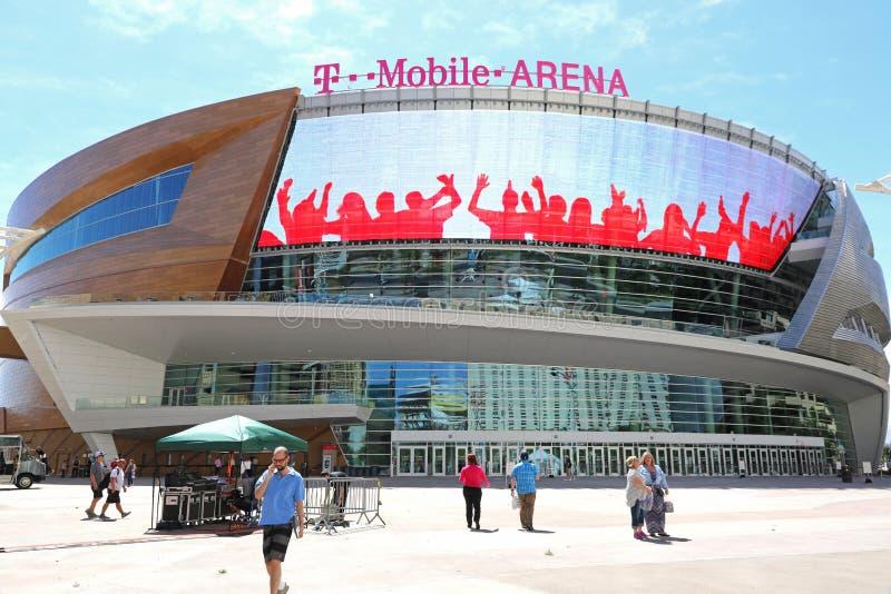 T-Mobile-Arena lizenzfreie stockbilder