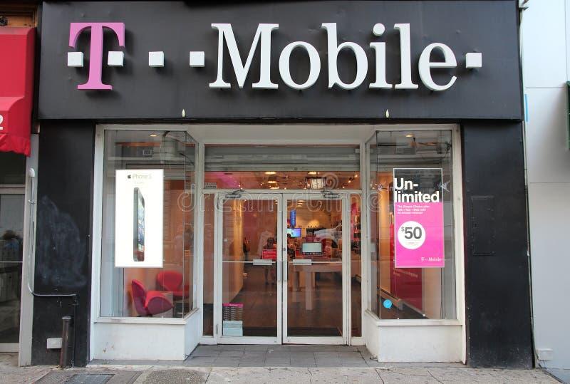 T-Mobile los E.E.U.U. fotografía de archivo
