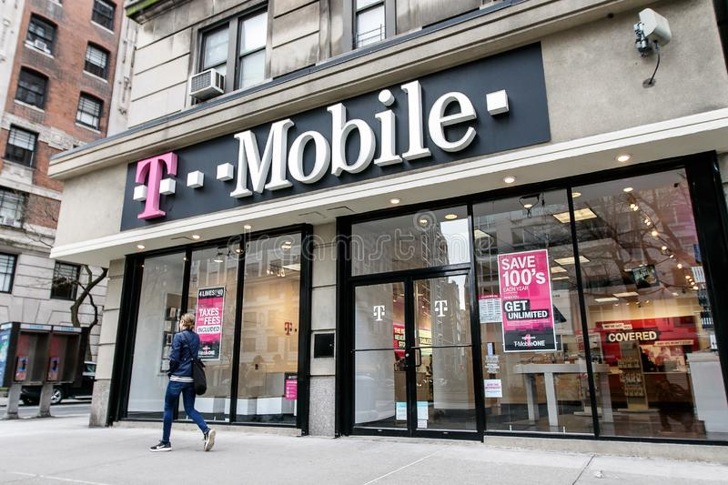 T-mobile photo stock