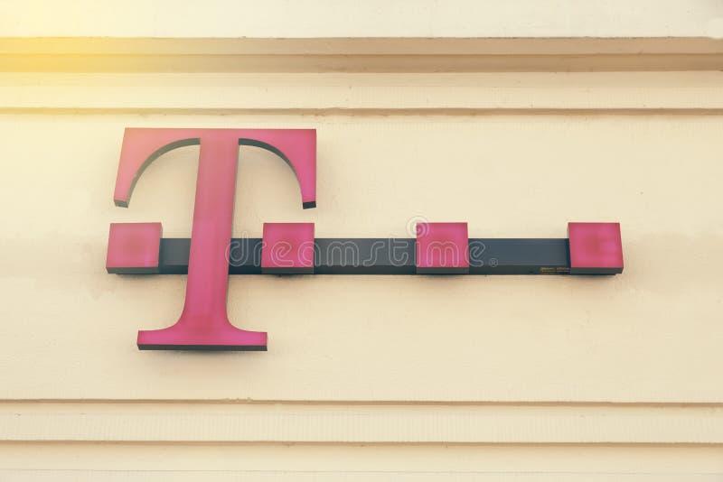T-Mobile sklepu znak 2 zdjęcie stock