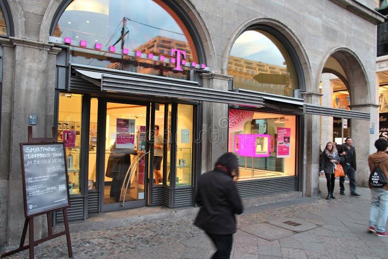 T-Mobile Tyskland royaltyfria bilder