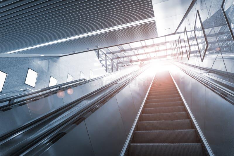 T?nel NYC do metro fotografia de stock