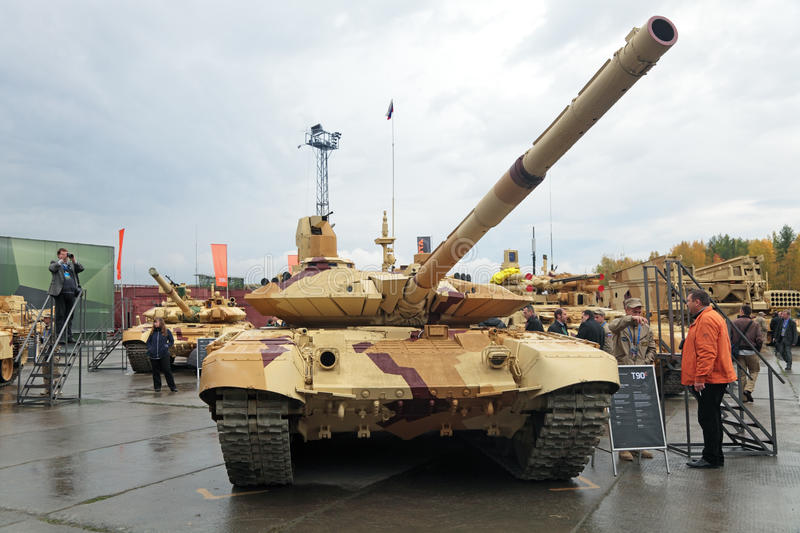 T-90 Editorial Stock Image - Image: 43059404