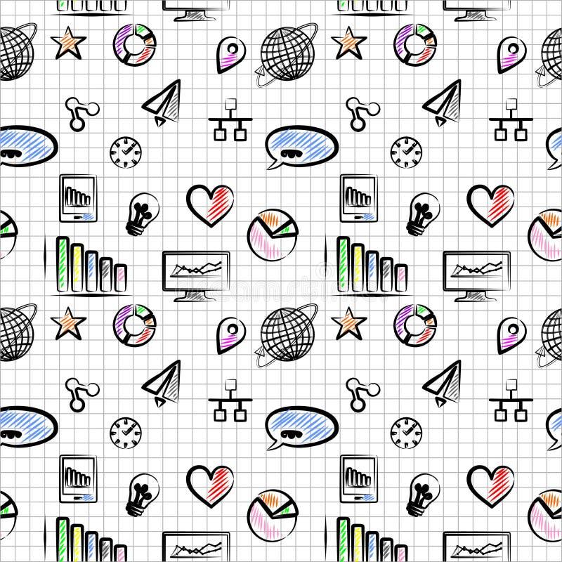 Download IT tło ilustracja wektor. Ilustracja złożonej z diagram - 57657513