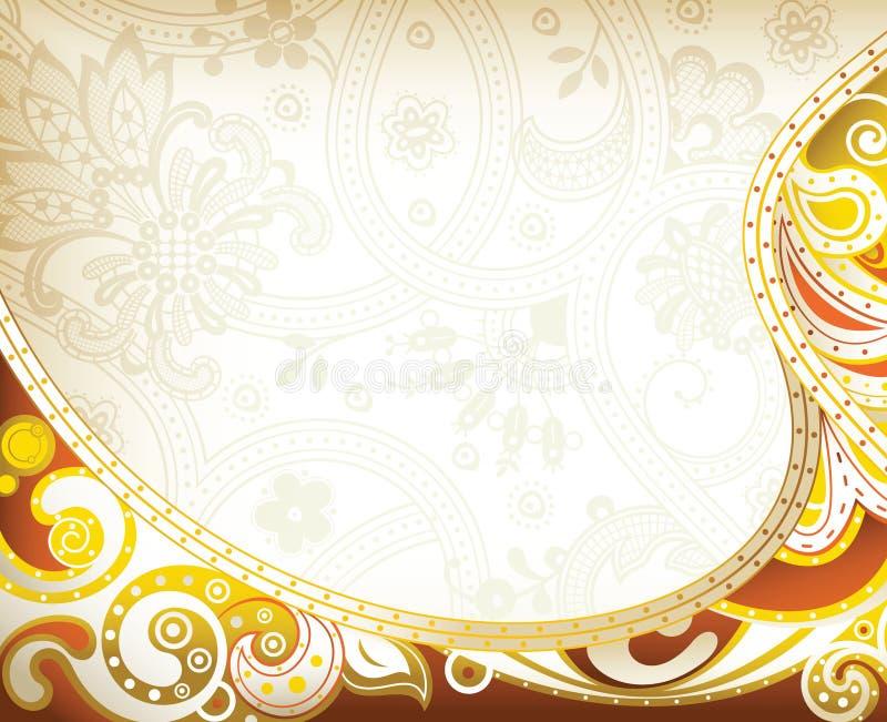 Download Tło Abstrakcjonistyczna Krzywa Ilustracji - Ilustracja złożonej z pomarańcze, wzór: 57669479