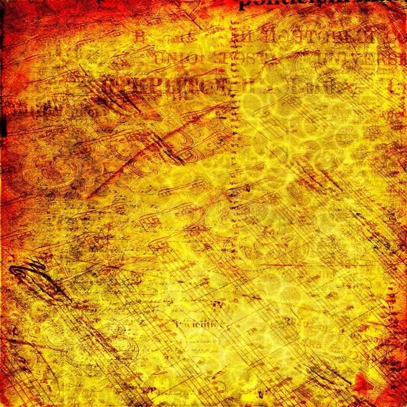 Download Tło Abstrakcjonistyczni Antyczni Listy Ilustracji - Ilustracja złożonej z antyczny, pusty: 13333699