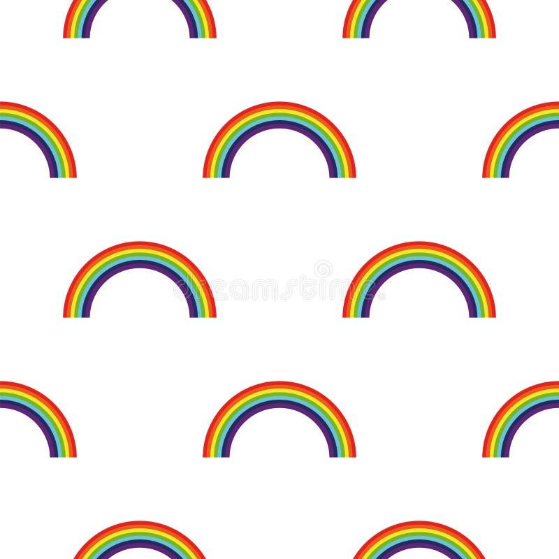 t?o abstrakcyjna rainbow ilustracji