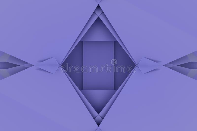 T?o abstrakta CGI, przypadkowy geometryczny t?o dla projekta, graficzny zasoby 3 d czyni? ilustracji