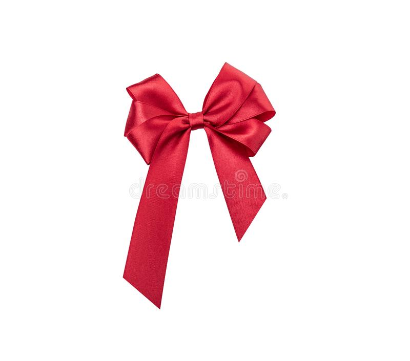 t?o biel czerwony tasiemkowy at?asowy b?yszcz?cy zdjęcie royalty free