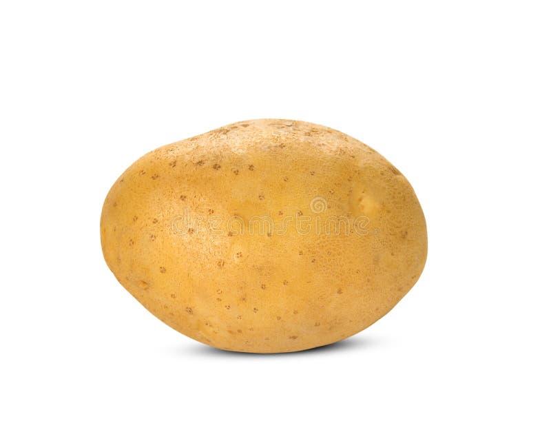 t?o biel odosobniony kartoflany zdjęcie royalty free