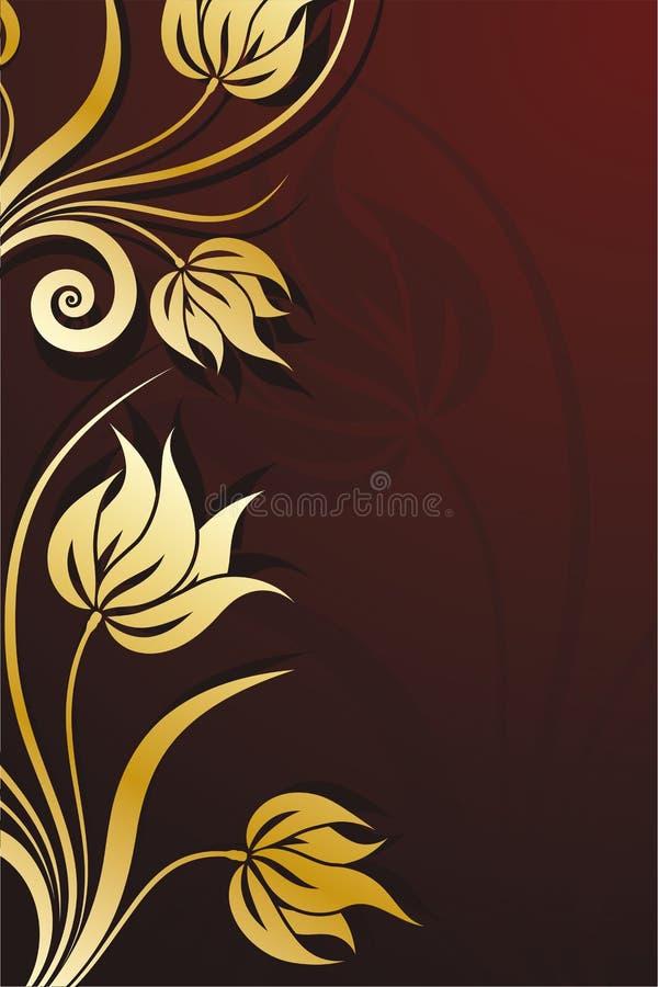 Download Tło kwiecisty wektora ilustracja wektor. Obraz złożonej z naturalny - 5958437
