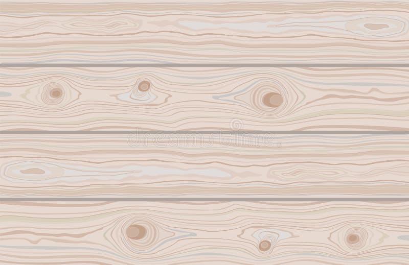 t?o paskuj?cy drewniany Brown drewniana ?ciany, deski, sto?u lub pod?oga powierzchnia, Tn?ca ciapanie deska boardwalk ilustracji